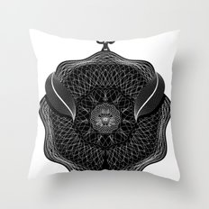 Spirobling XVII Throw Pillow