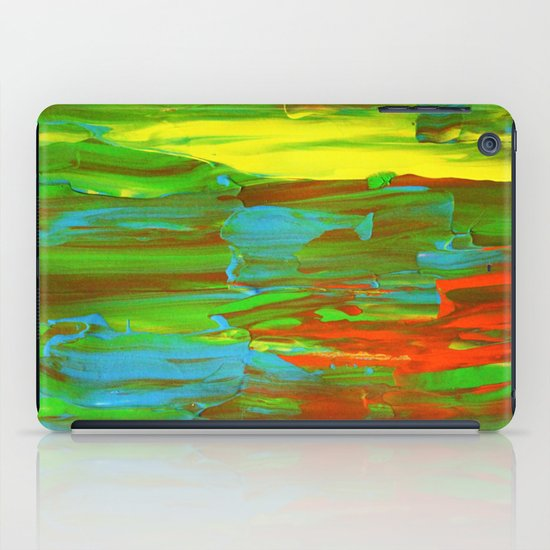 Abstract Painting 28 iPad Case