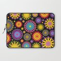 Bright And Colorful Flowers Laptop Sleeve