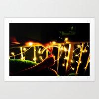 Light Wheel Art Print