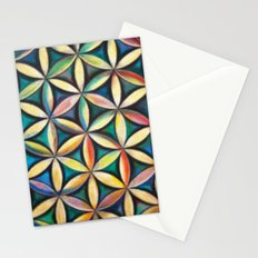 Flower of Life Stationery Cards