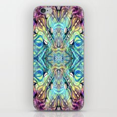 Rainbow Pukkalele iPhone & iPod Skin