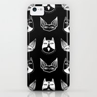 iPhone 5c Cases featuring Witchy Kittens by lOll3