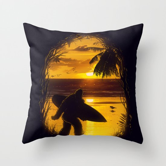 Secret Spot Throw Pillow