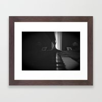 C Major Chord Framed Art Print