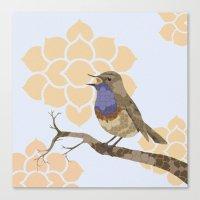 Songbird Canvas Print