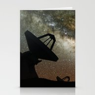 Radio Telescopes And Mil… Stationery Cards