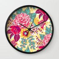 Bloomin' Beauties - Suns… Wall Clock
