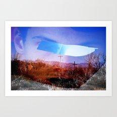 experi-mental 02 Art Print