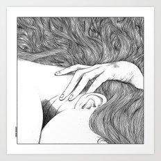asc 629 - Le geste furtif (Stealth rapture) Art Print