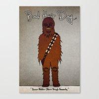 bad hair day no:3 / Chewbacca  Canvas Print