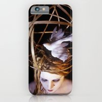 iPhone & iPod Case featuring Bird Headpiece by Rebecca Handler