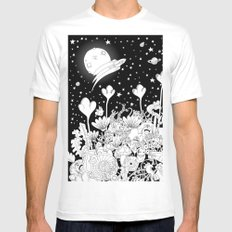 Seres Mens Fitted Tee White SMALL