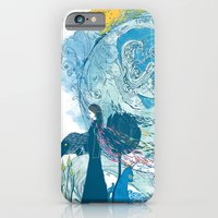 iPhone & iPod Case featuring i love my planet 2 by frederic levy-hadida