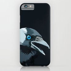Corvus monedula has a stinking attitude iPhone 6 Slim Case