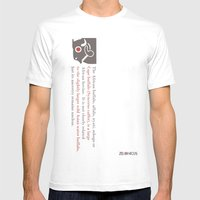 Zelonicus Buffalo Mens Fitted Tee White SMALL