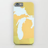 The GREAT LAKES Of NORTH… iPhone 6 Slim Case