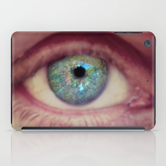 World Eye View iPad Case