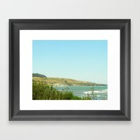 California Coast Floral II Framed Art Print