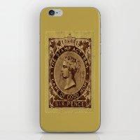 Tax Stamp 1864 - 019 iPhone & iPod Skin