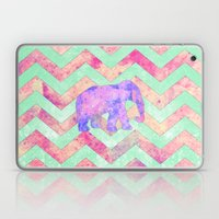 Whimsical Purple Elephan… Laptop & iPad Skin