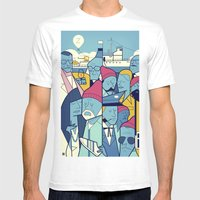 The Life Acquatic With S… Mens Fitted Tee White SMALL