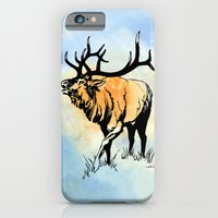 ELK IN THE MIST iPhone 6 Slim Case