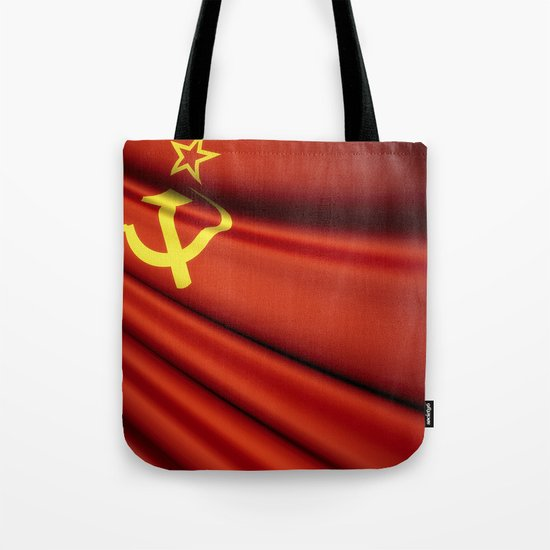 Flag of Soviet Union (1922-1991) Tote Bag