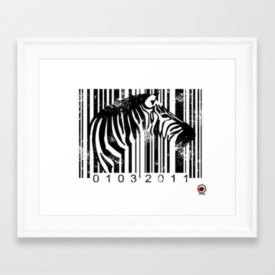 Code Z Framed Art Print
