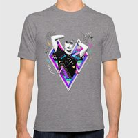 Heart Of Glass - Kris Ta… Mens Fitted Tee Tri-Grey SMALL