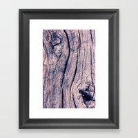 Wood 02 Framed Art Print