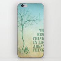 Best things. iPhone & iPod Skin