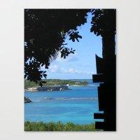 Untitled : Antigua Canvas Print