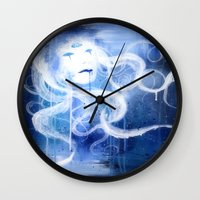 Three Eyed Goddess Wall Clock