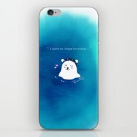 i want to leave to travel... iPhone & iPod Skin