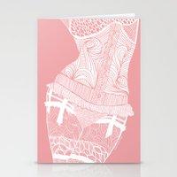 La femme n.1 _ pink edition Stationery Cards