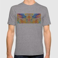 Canyon Mens Fitted Tee Athletic Grey SMALL