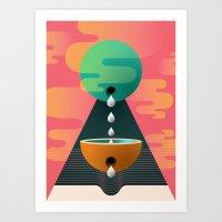 Receptical One Art Print