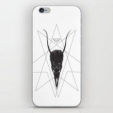 sleeping demon iPhone & iPod Skin