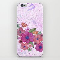 My Pink Garden iPhone & iPod Skin