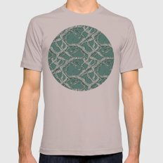 Winter Branches Mens Fitted Tee Cinder SMALL