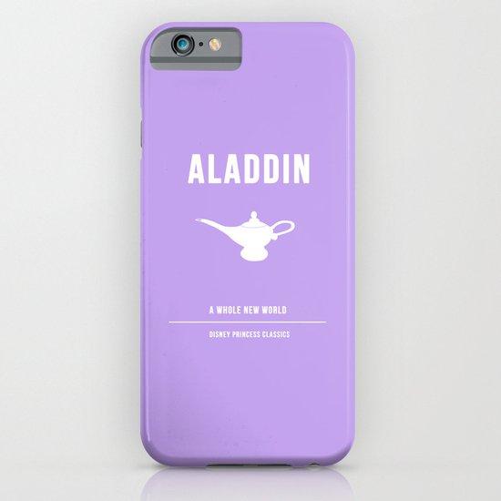 Disney Princesses: Aladdin Minimalist iPhone & iPod Case