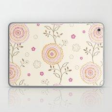 Folky Flowers Laptop & iPad Skin