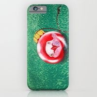iPhone & iPod Case featuring New Year Ball by MARIA BOZINA - PRINT