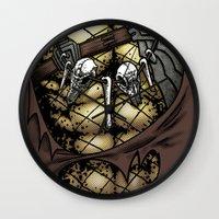 Hunting Costume Wall Clock