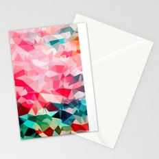 Polygon Pattern II Stationery Cards