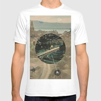 Sacred Future Mens Fitted Tee White SMALL