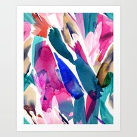 Paradise Watercolor Bota… Art Print