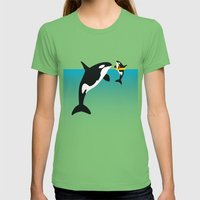 Orca Womens Fitted Tee Grass SMALL