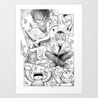 Page 3 Art Print